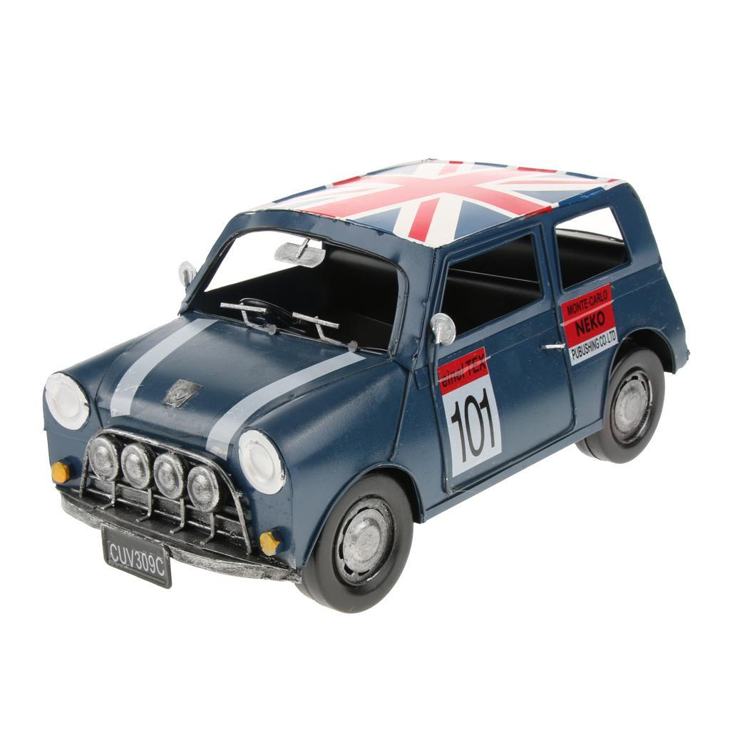 Retro-Style-Car-Model-Home-Bar-Cafe-Decoration-Collezioni-Regalo-speciale miniatura 11