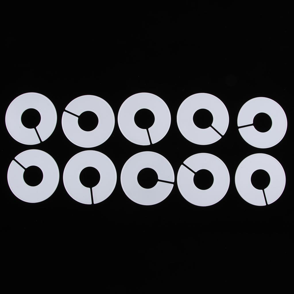 cadre rond Paquet de 30 diviseurs de taille d/'anneau de support de vêtements