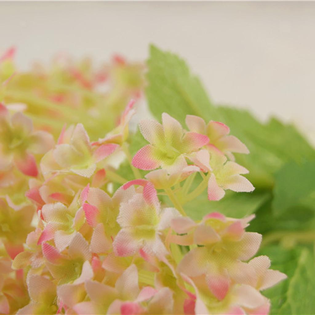 Mini-Bouquet-Artificiel-Faux-Soie-Hortensia-Fleurs-Mariage-Anniversaire miniature 8