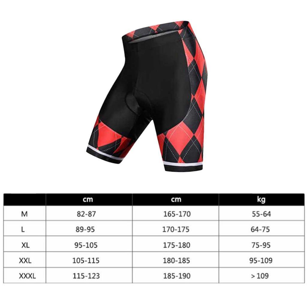 Cuissard-de-Velo-pour-Adultes-Shorts-de-Cyclisme-Respirant-Sechage-Rapide miniature 3