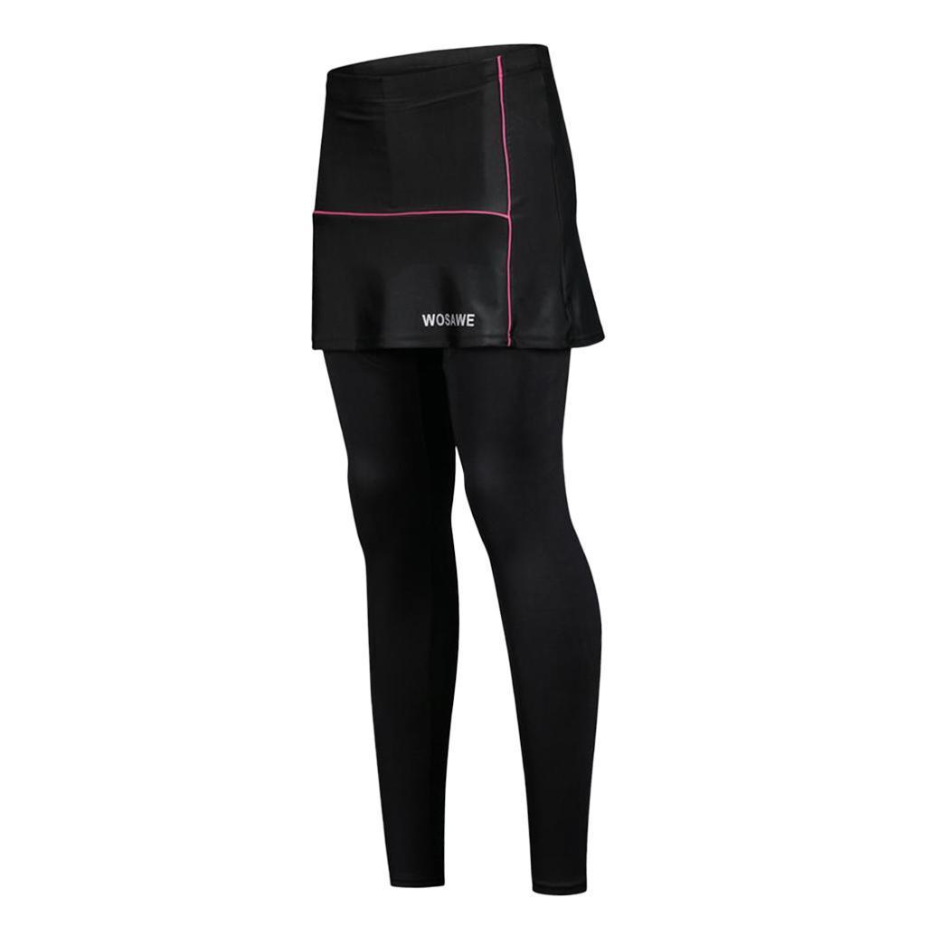 Durable-Femme-Cyclisme-Shorts-Jupe-Bicyclette-D-039-ete-Sports-Exterieur miniature 21