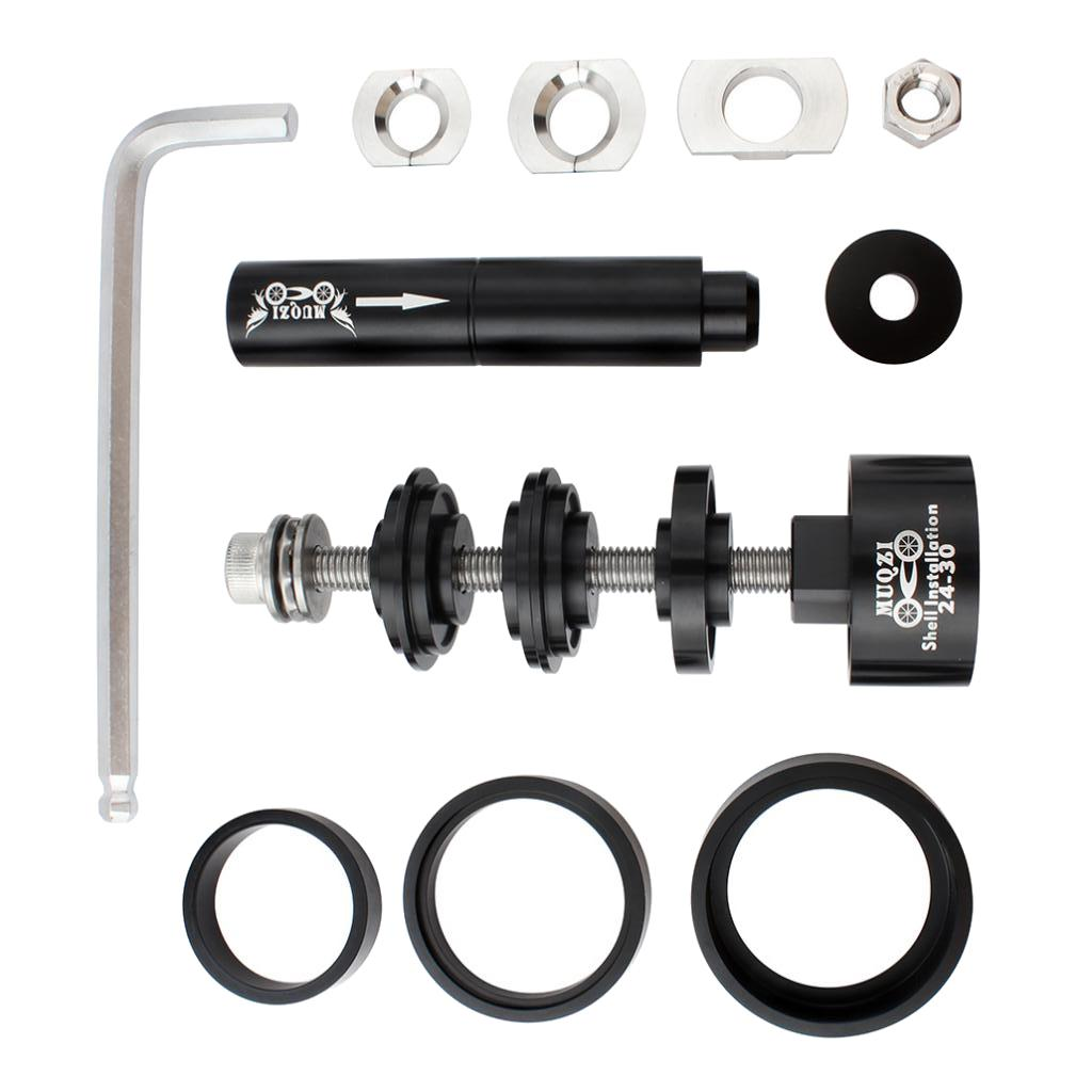 Professional Bike Bearing Press Tool Kit for Hub Bottom Bracket BB Repair