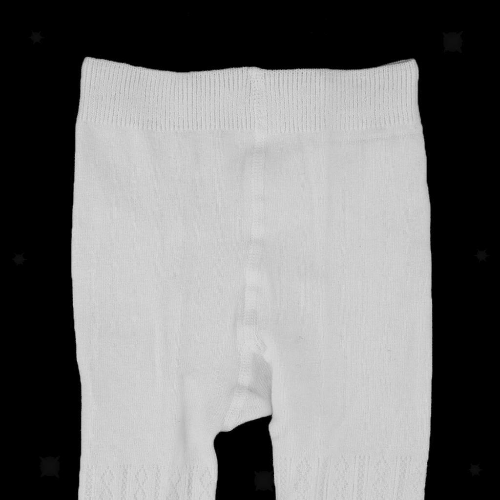 Collants-Bebe-Filles-Hiver-Coton-Tricote-Losange-Elastique-Antiderapant miniature 10