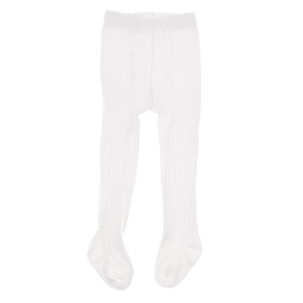 Collants-Bebe-Filles-Hiver-Coton-Tricote-Losange-Elastique-Antiderapant miniature 11