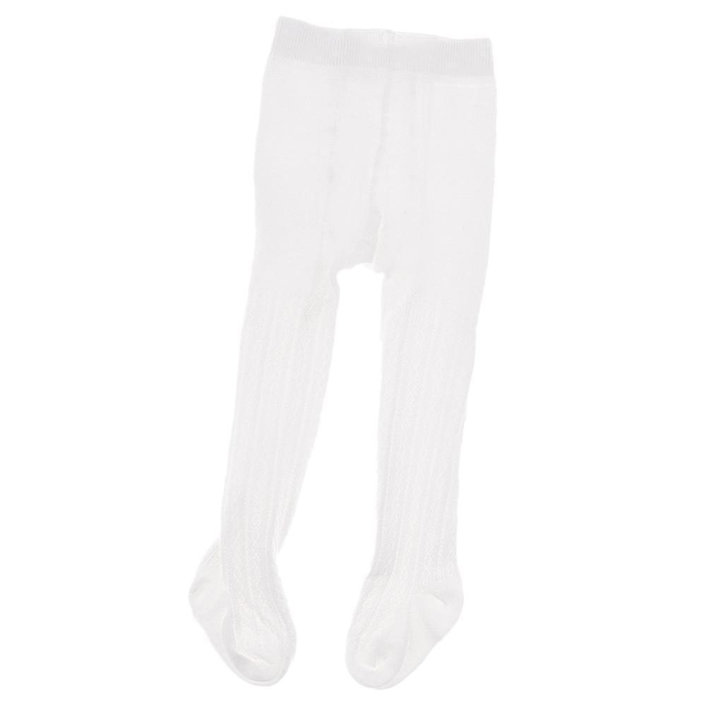 Collants-Bebe-Filles-Hiver-Coton-Tricote-Losange-Elastique-Antiderapant miniature 12