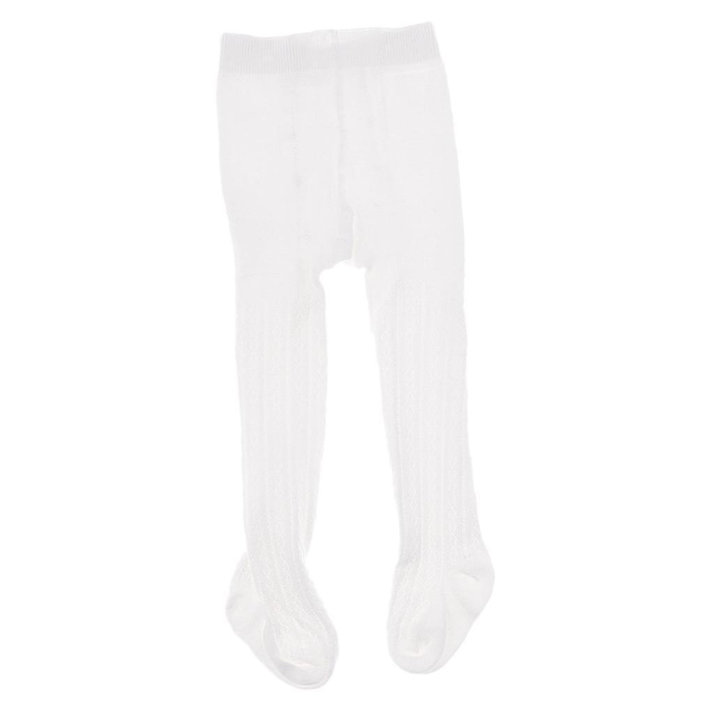 Collants-Bebe-Filles-Hiver-Coton-Tricote-Losange-Elastique-Antiderapant miniature 13