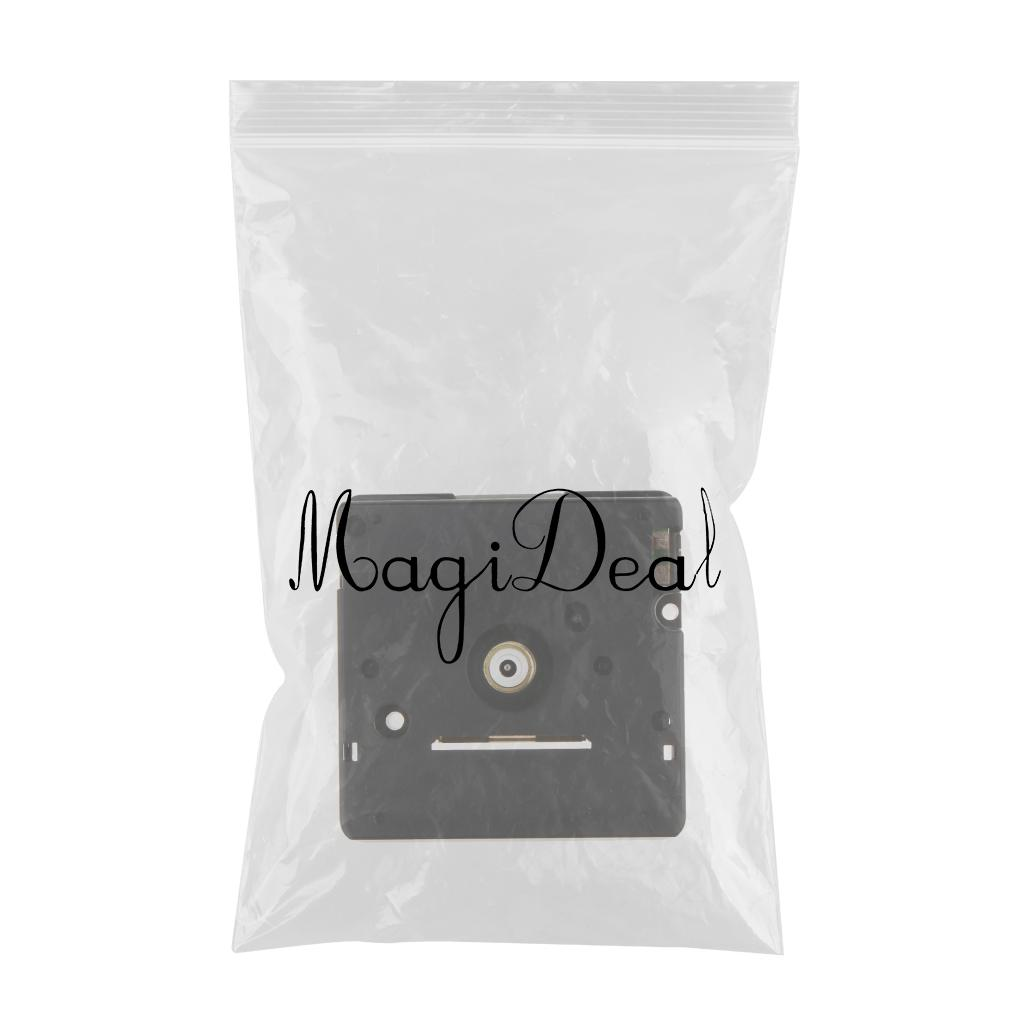 Black Plastic Clock Mini Quartz Movement Replace Repair Parts KS302I DIY Mechanism Tool for Watchmaker 21mm Shaft