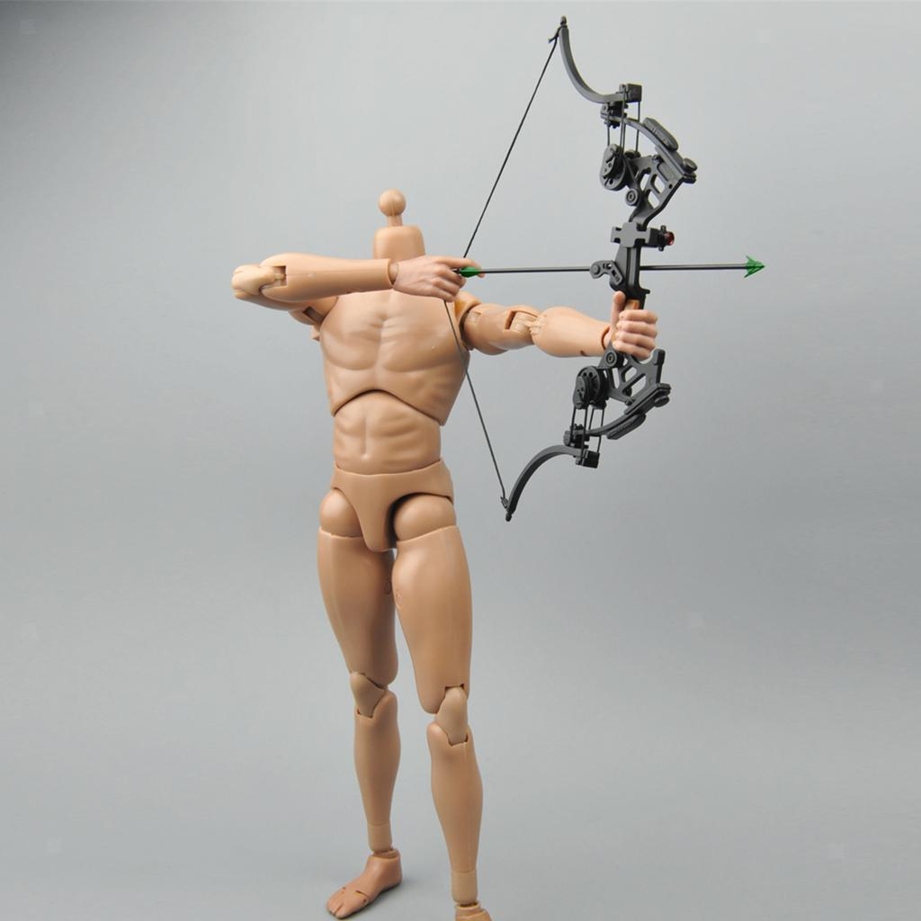 Miniature-Bow-amp-fleches-Set-for-1-6-scale-12-034-action-figure-man-First-Blood-Rambo miniature 5
