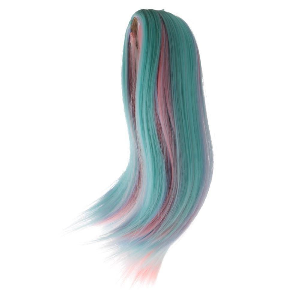Straight-Wavy-Curly-Hair-Wig-for-18-039-039-Dolls-Clothes-Accessories thumbnail 50