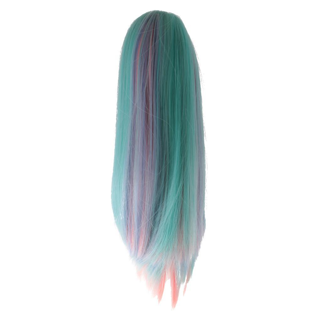Straight-Wavy-Curly-Hair-Wig-for-18-039-039-Dolls-Clothes-Accessories thumbnail 51