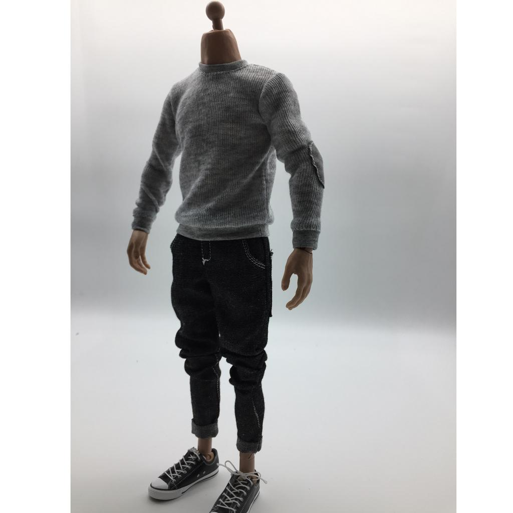 1//6 Male Clothing Outfits Accessory For 12/'/' Hot Toys Phicen Action Figure Body