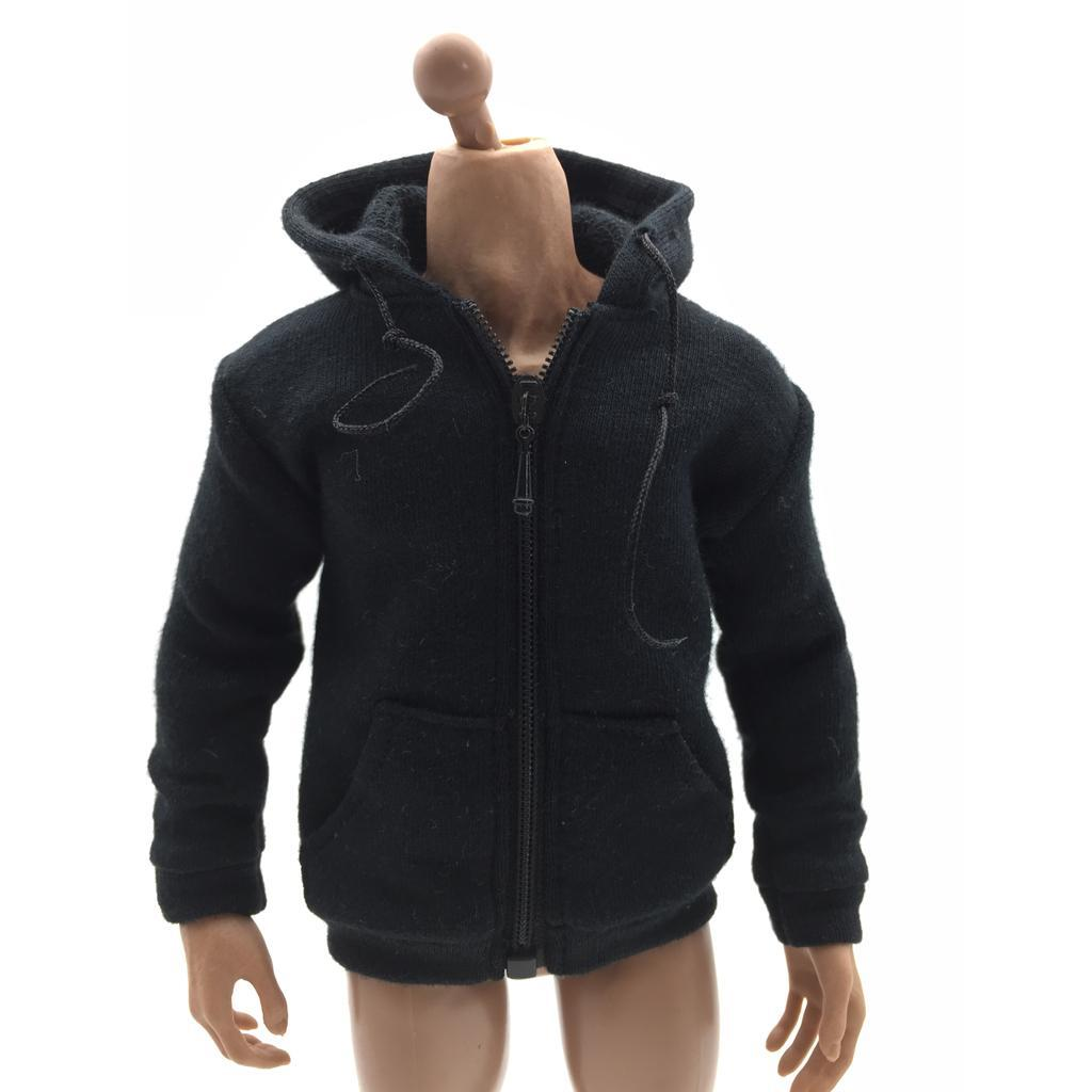 1-6-Scale-Jacket-Hoodie-T-shirt-Jeans-Accessories-for-12-039-039-Figure-Hot-Toys miniature 21