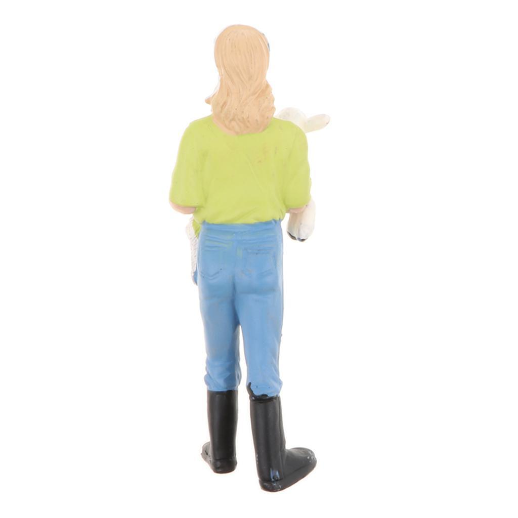 Plastic-Colorful-People-Model-Figure-Ranch-Worker-Figurines-Kid-Gift-Decor thumbnail 15