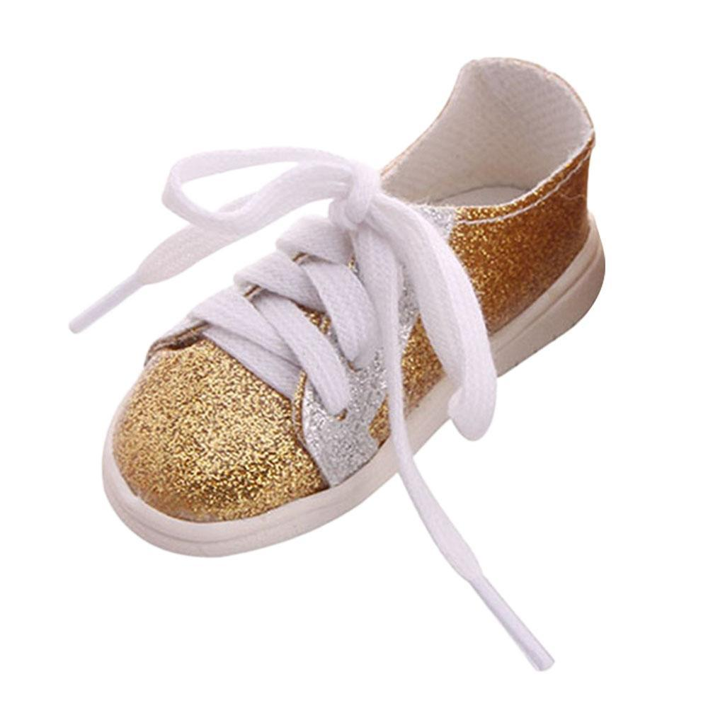 18inch-Girl-Doll-Fairy-Leisure-Shoes-for-American-Doll-Xmas-Gift-Accessories miniature 12