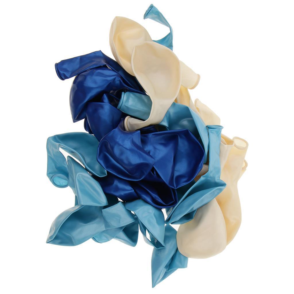 30-Pieces-Ballon-de-Latex-Decoration-pour-Fete-d-039-Anniversaire-Mariage miniature 8