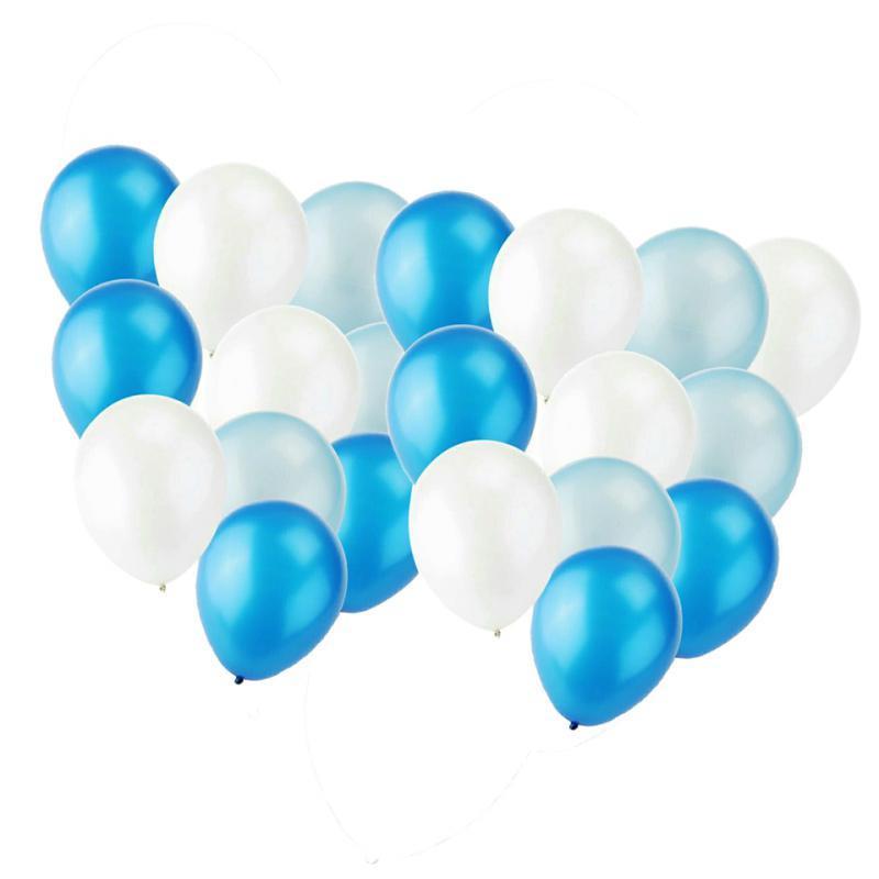 30-Pieces-Ballon-de-Latex-Decoration-pour-Fete-d-039-Anniversaire-Mariage miniature 10