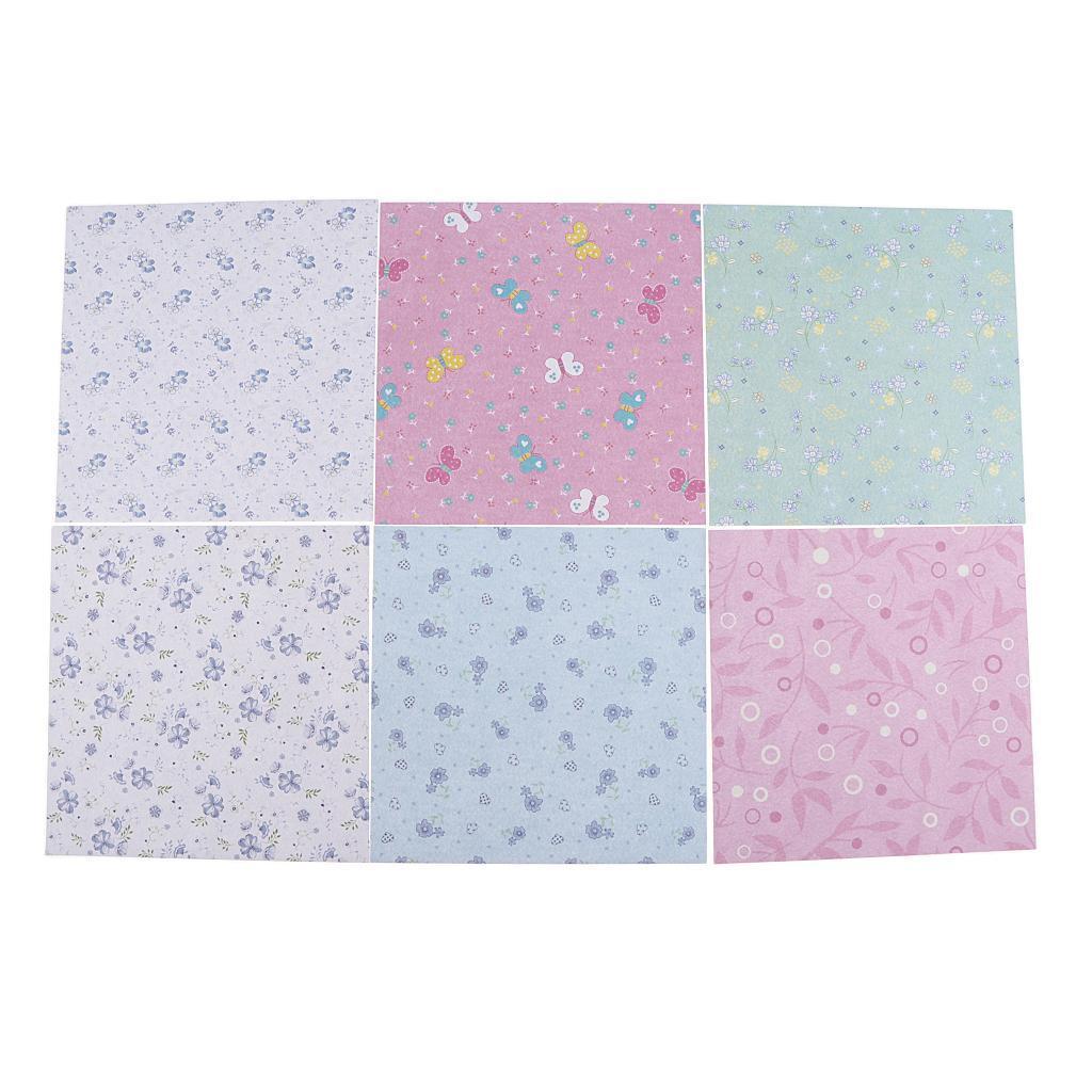 15-Pezzi-Carte-da-Origami-Quadrate-Pennelli-A-Punta-Tonda-Nair-Art-DIY miniatura 10
