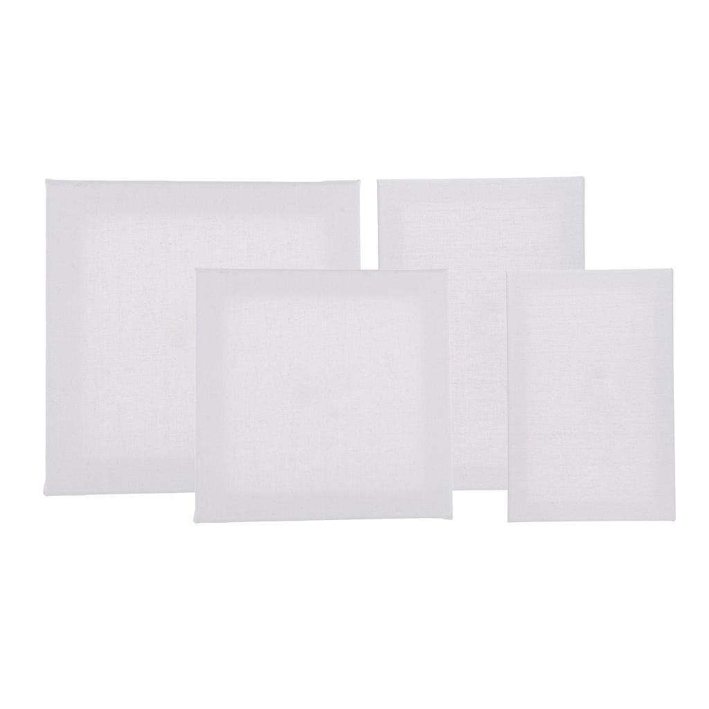 tableau de toile cadre blanc bois pour peinture acrylique. Black Bedroom Furniture Sets. Home Design Ideas