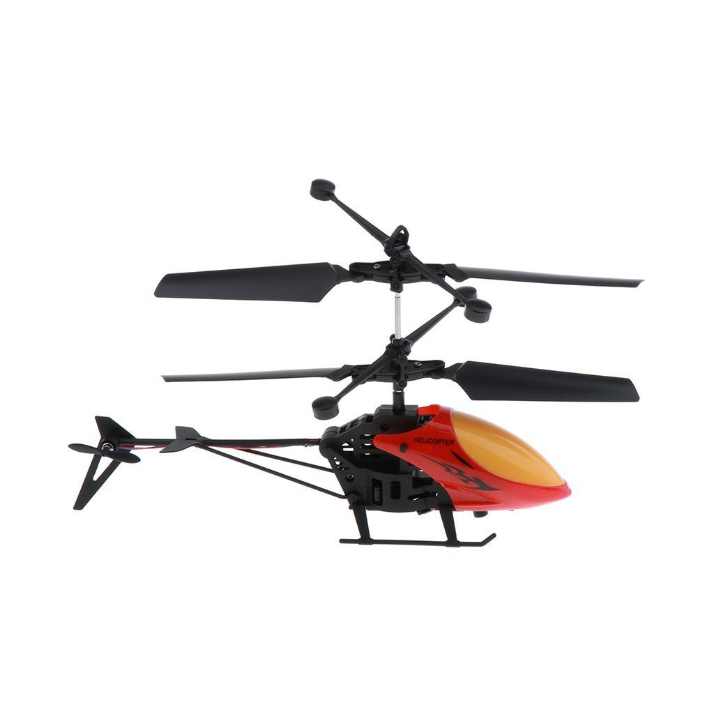 Mini-Helicopter-RC-Drone-Flash-Light-Toys-Outdoor-Airplane-Kids-ABS-Plastic miniature 6