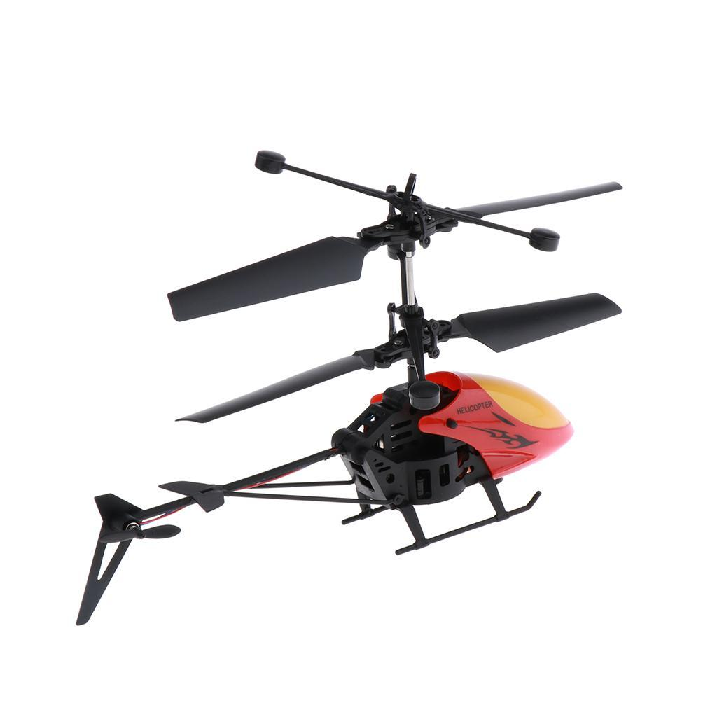 Mini-Helicopter-RC-Drone-Flash-Light-Toys-Outdoor-Airplane-Kids-ABS-Plastic miniature 7