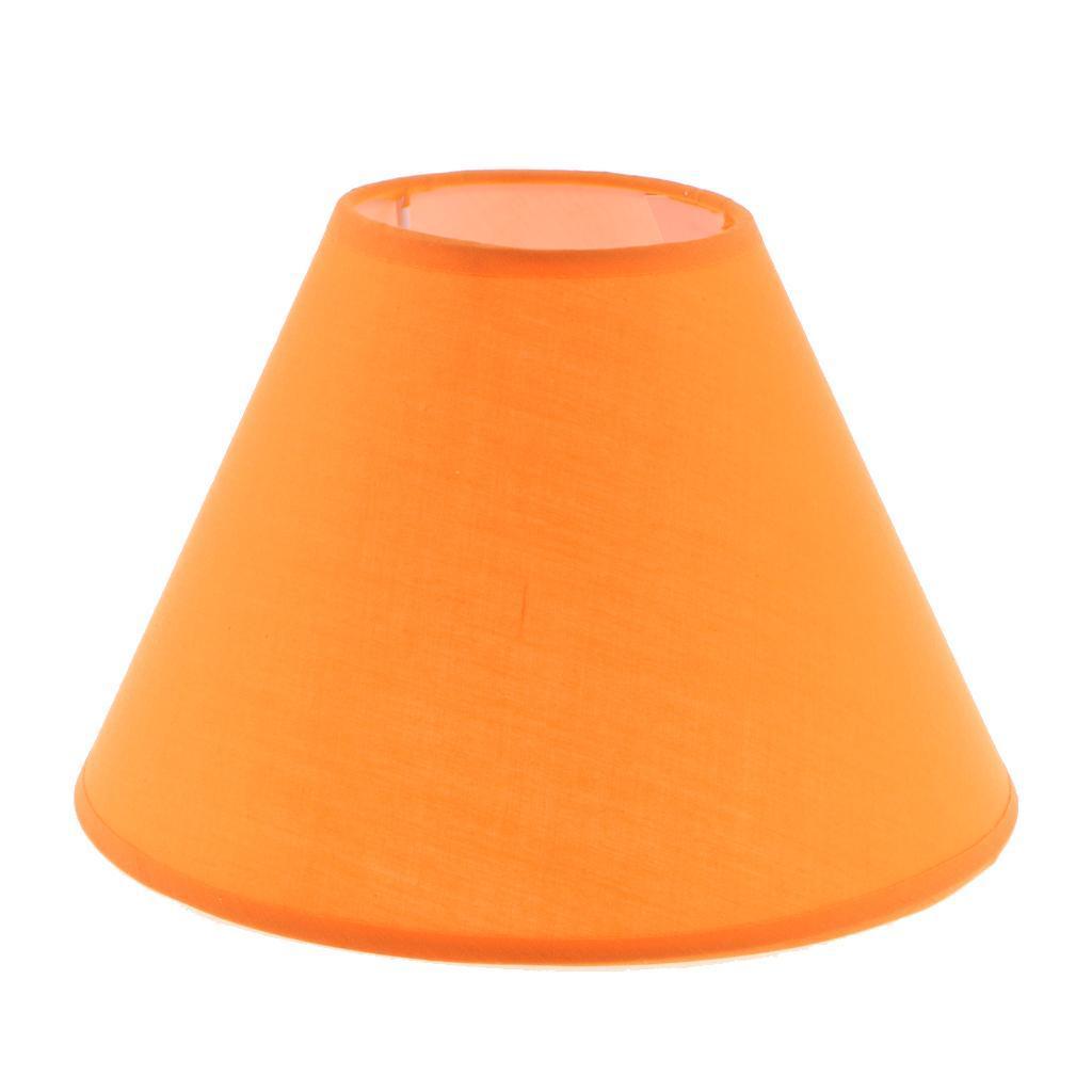 Paralume-in-Tessuto-per-lampada-da-tavolo-o-soffitto-Classico-in-Diversi-Colori miniatura 13
