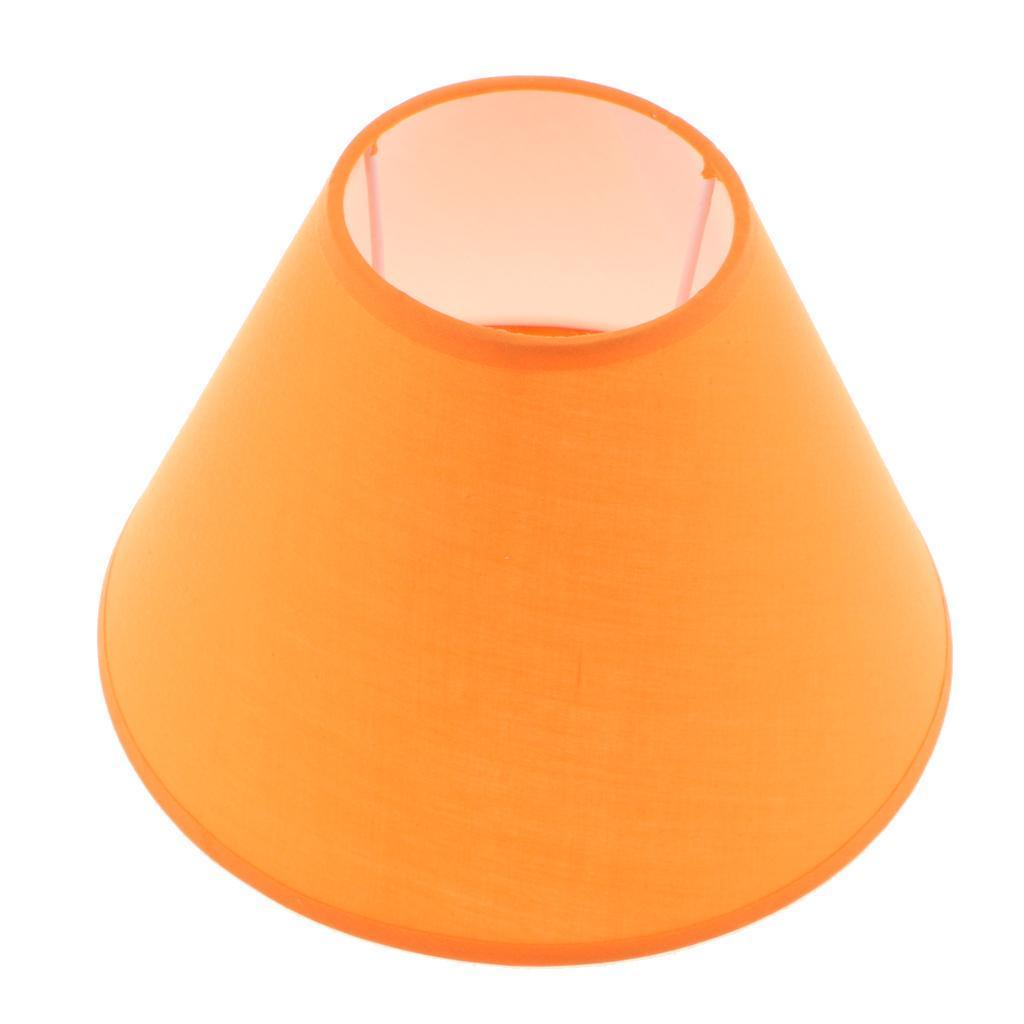 Paralume-in-Tessuto-per-lampada-da-tavolo-o-soffitto-Classico-in-Diversi-Colori miniatura 14