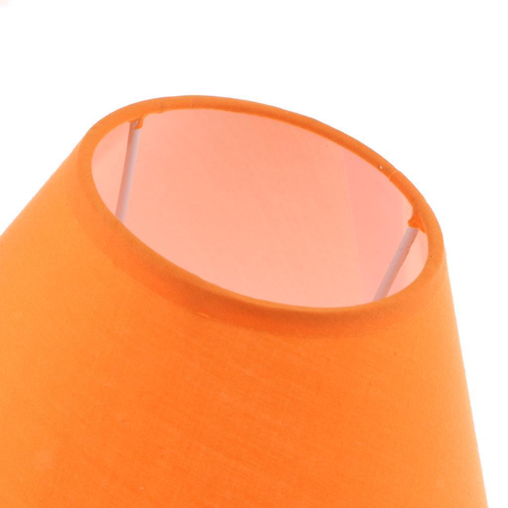 Paralume-in-Tessuto-per-lampada-da-tavolo-o-soffitto-Classico-in-Diversi-Colori miniatura 15