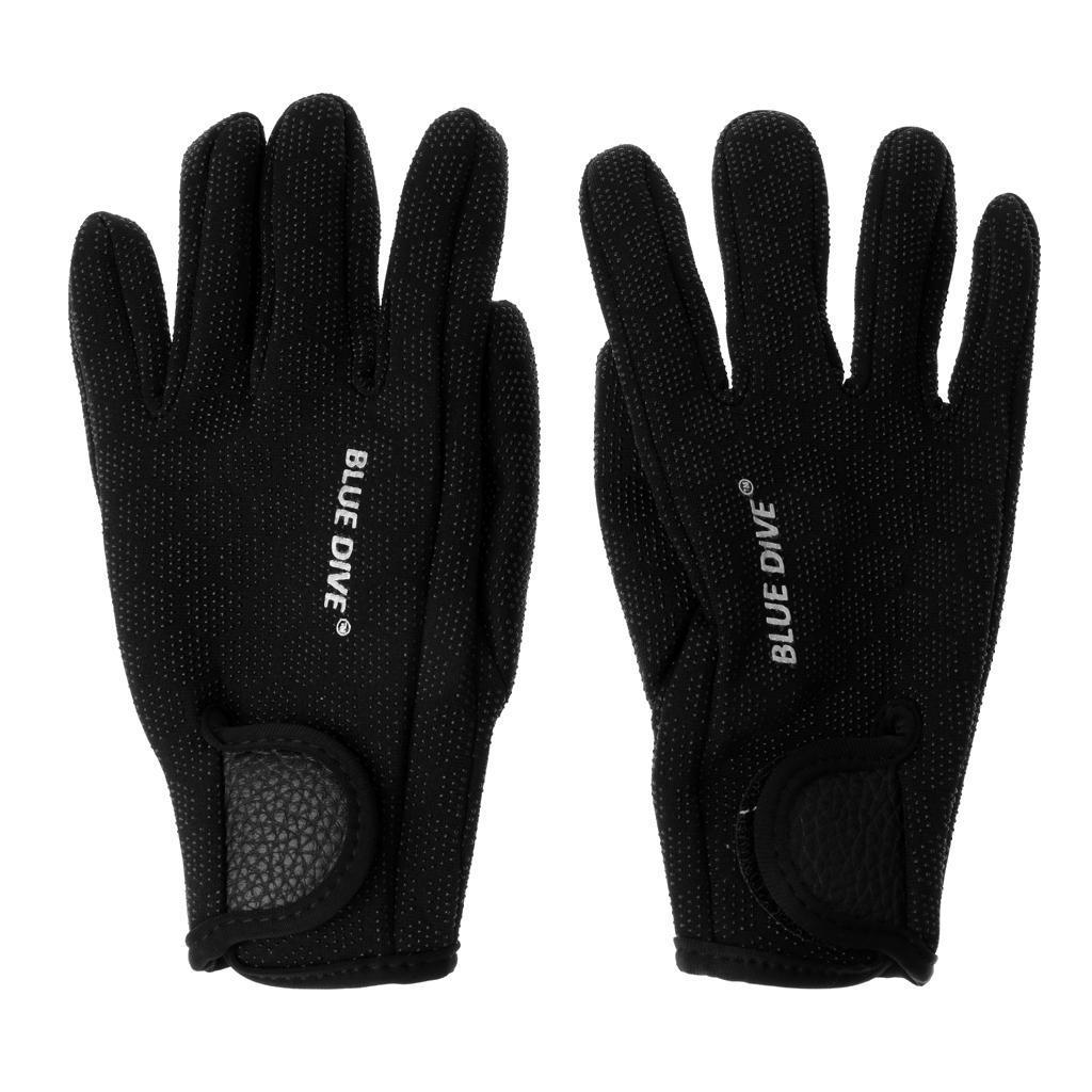 1-paio-1-5-millimetri-Neoprene-antigraffio-antiscivolo-Five-Finger-Glove-per miniatura 3