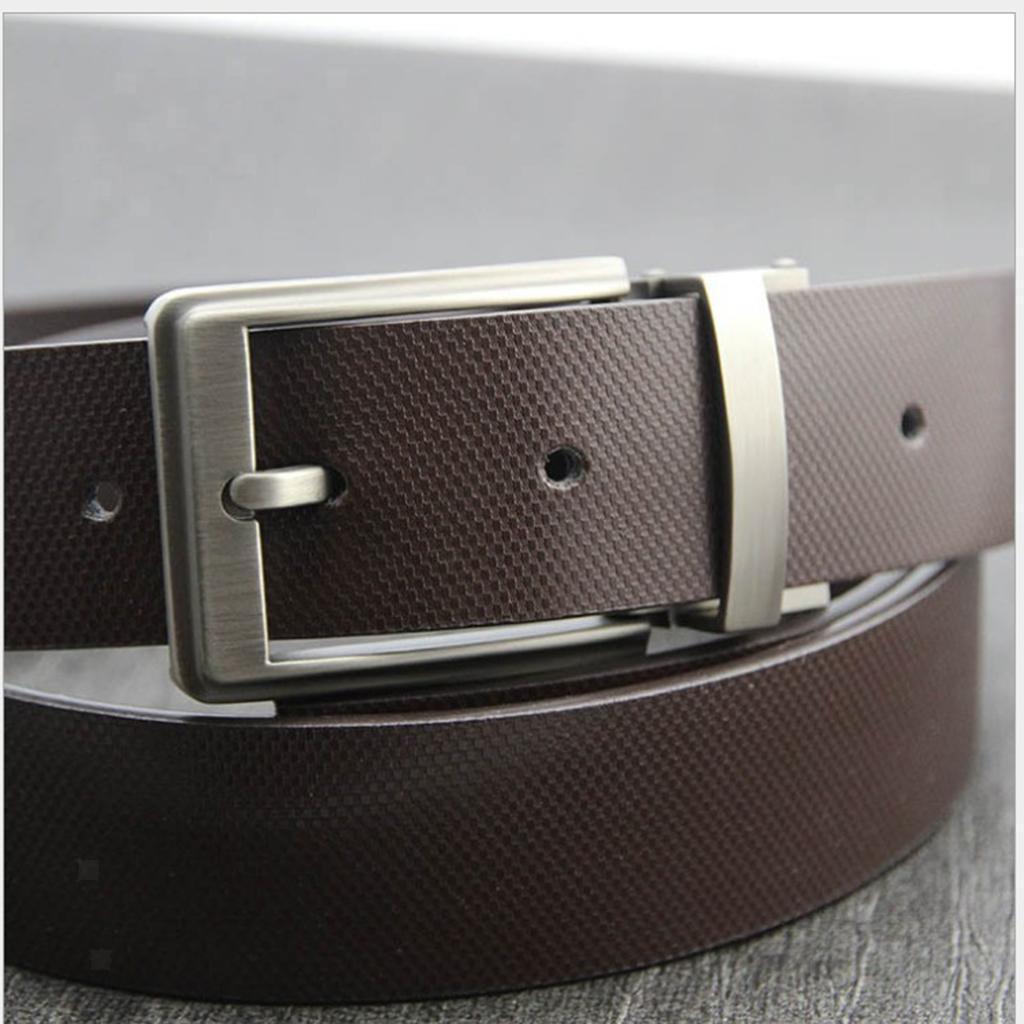 Reversible-Buckle-Alloy-Antique-Rectangular-Single-Prong-Pin-Belt-Buckle-for-Men thumbnail 3