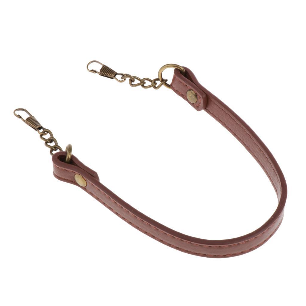 14-039-039-Leather-Replacement-Handle-Purse-Strap-Handbags-Shoulder-Bag-Chain-Belt thumbnail 6