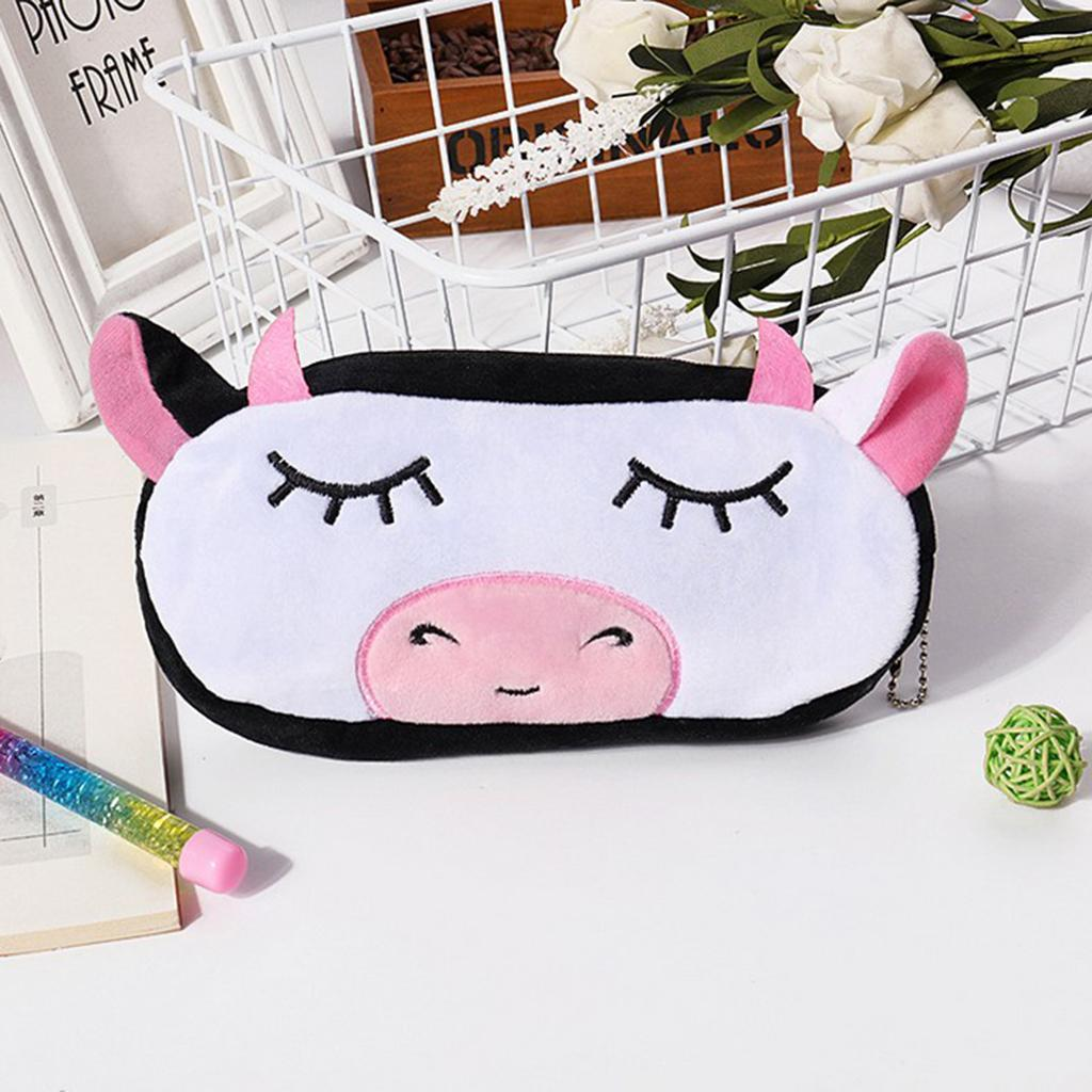 Pencil-Pouch-Plush-Stationery-Bag-Animal-Cosmetic-Bags-School-Supplies thumbnail 10