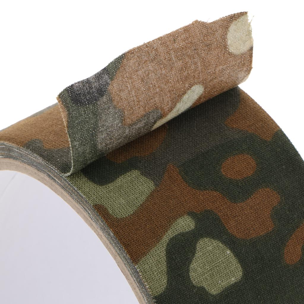 Self-adhesive Protective Camouflage Tape Wrap 50mm*5m for Camera Lens