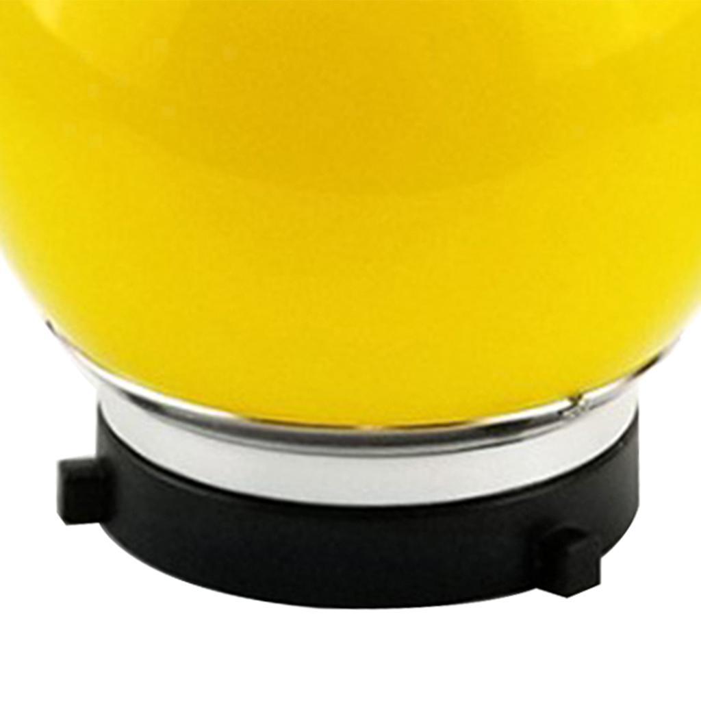 6-034-Spherical-Monolight-Diffuser-Ball-Bowens-Mount-for-Studio-Flash-Lights miniature 5