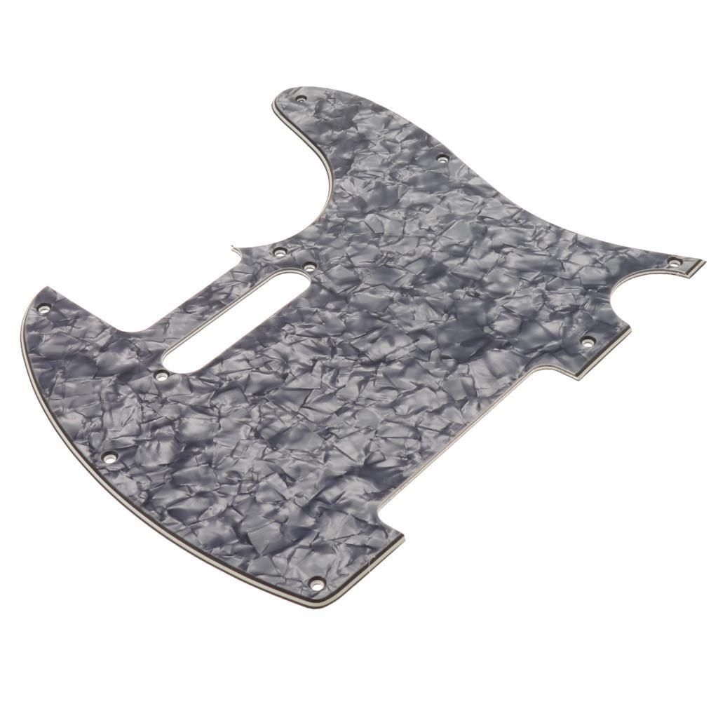 pvc electric guitar scratch plate for tl guitar replacement parts ebay. Black Bedroom Furniture Sets. Home Design Ideas
