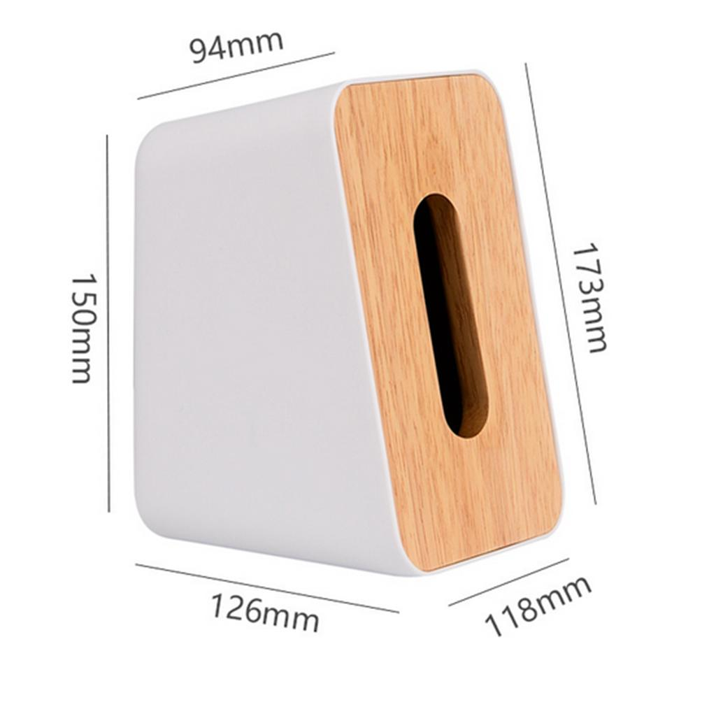 Simple Chic Tissue Box Dispenser Cover Napkin Paper Holder Paper Towel Case