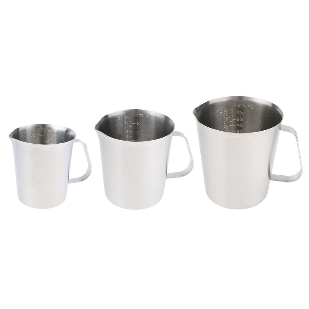 Coppa-Tazza-Tumbler-Abbellimenti-Frullamento-Latte-Cucina-Caffettiera miniatura 5