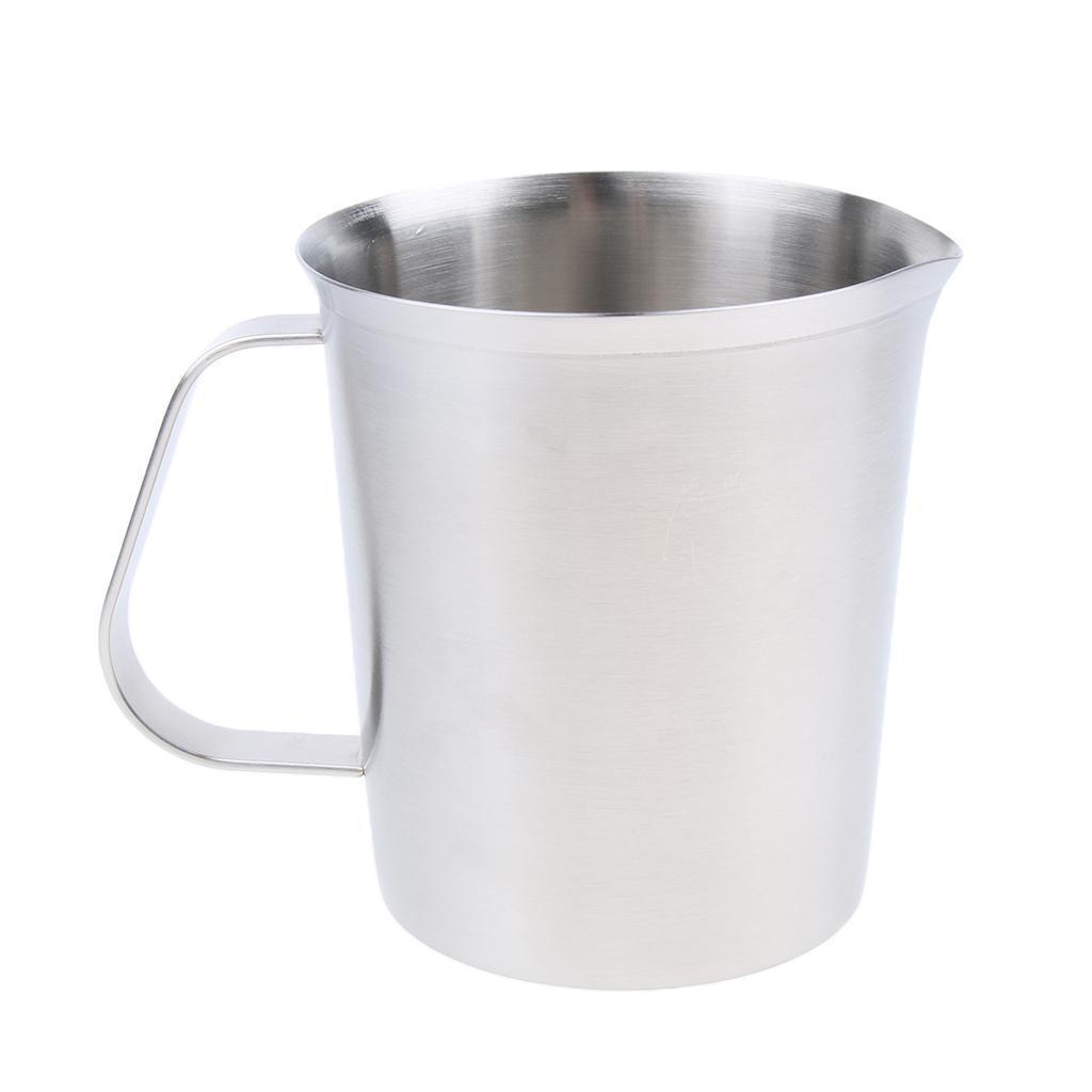Coppa-Tazza-Tumbler-Abbellimenti-Frullamento-Latte-Cucina-Caffettiera miniatura 4