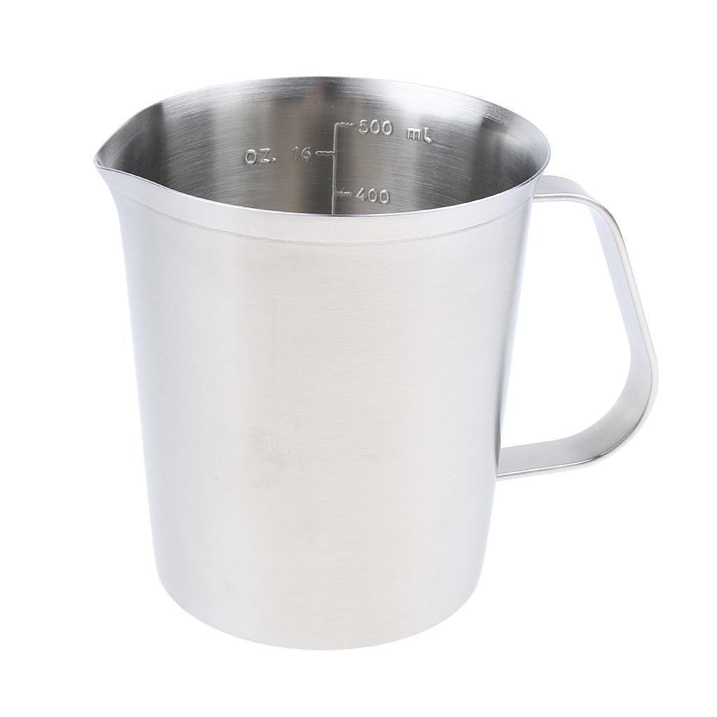 Coppa-Tazza-Tumbler-Abbellimenti-Frullamento-Latte-Cucina-Caffettiera miniatura 3