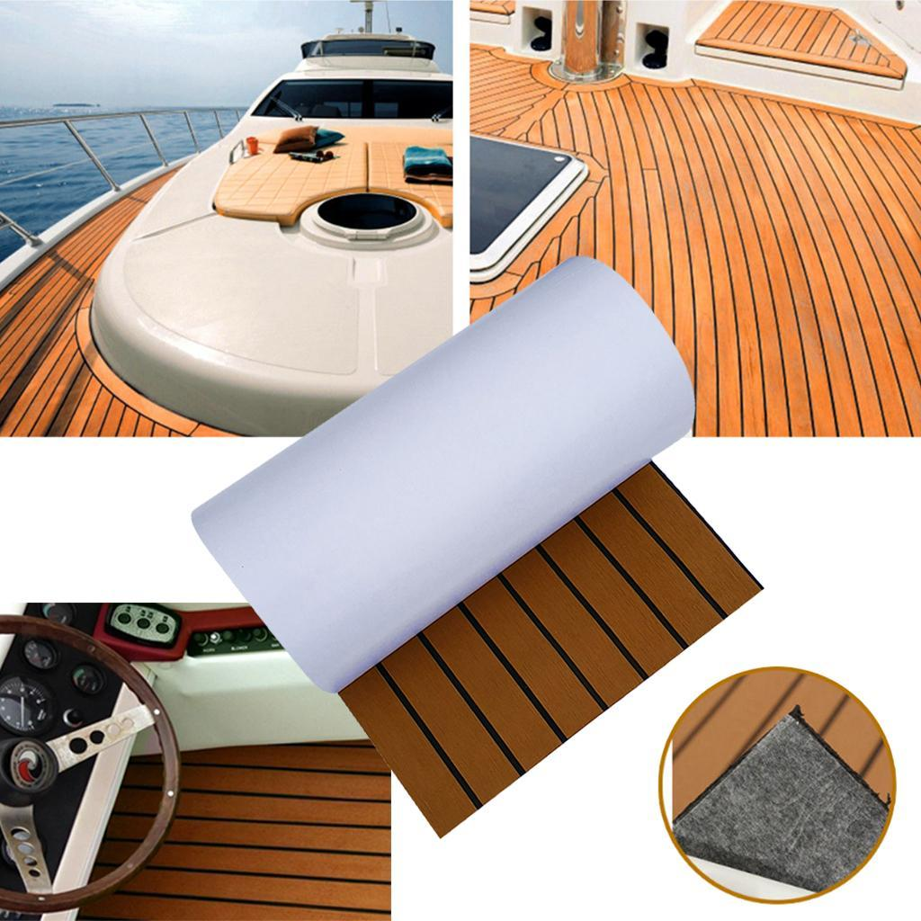 Non Skid Boat Flooring: Boat Teak Decking Sheet Marine Yacht Car Flooring Swimming