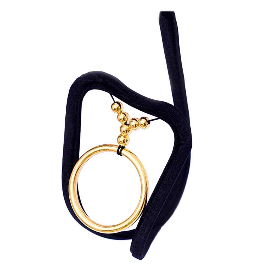 Männer Tanga Thong G-String mit Ring Strings Slips