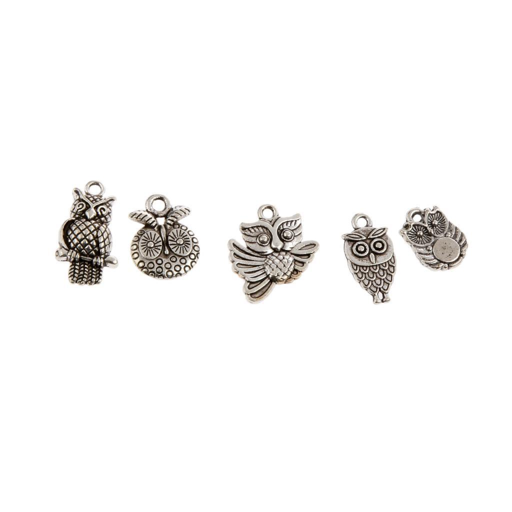 Pendentifs-Breloques-Charms-pour-Bijoux-Collier-Bracelet-DIY-Artisanat miniature 33