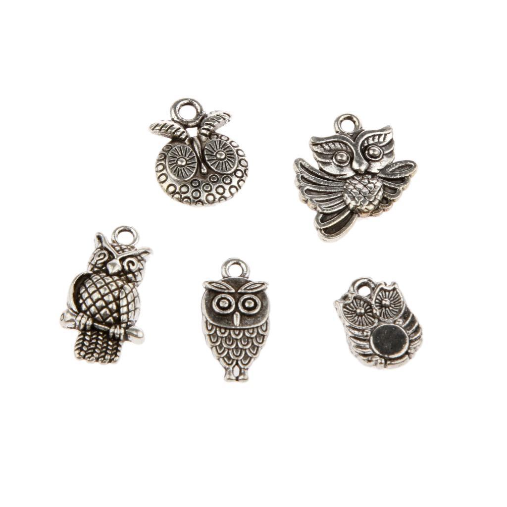 Pendentifs-Breloques-Charms-pour-Bijoux-Collier-Bracelet-DIY-Artisanat miniature 34