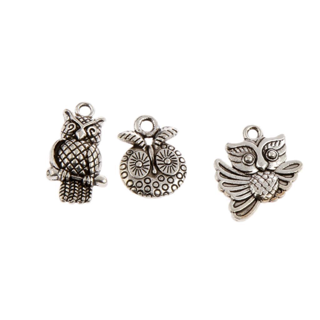 Pendentifs-Breloques-Charms-pour-Bijoux-Collier-Bracelet-DIY-Artisanat miniature 35
