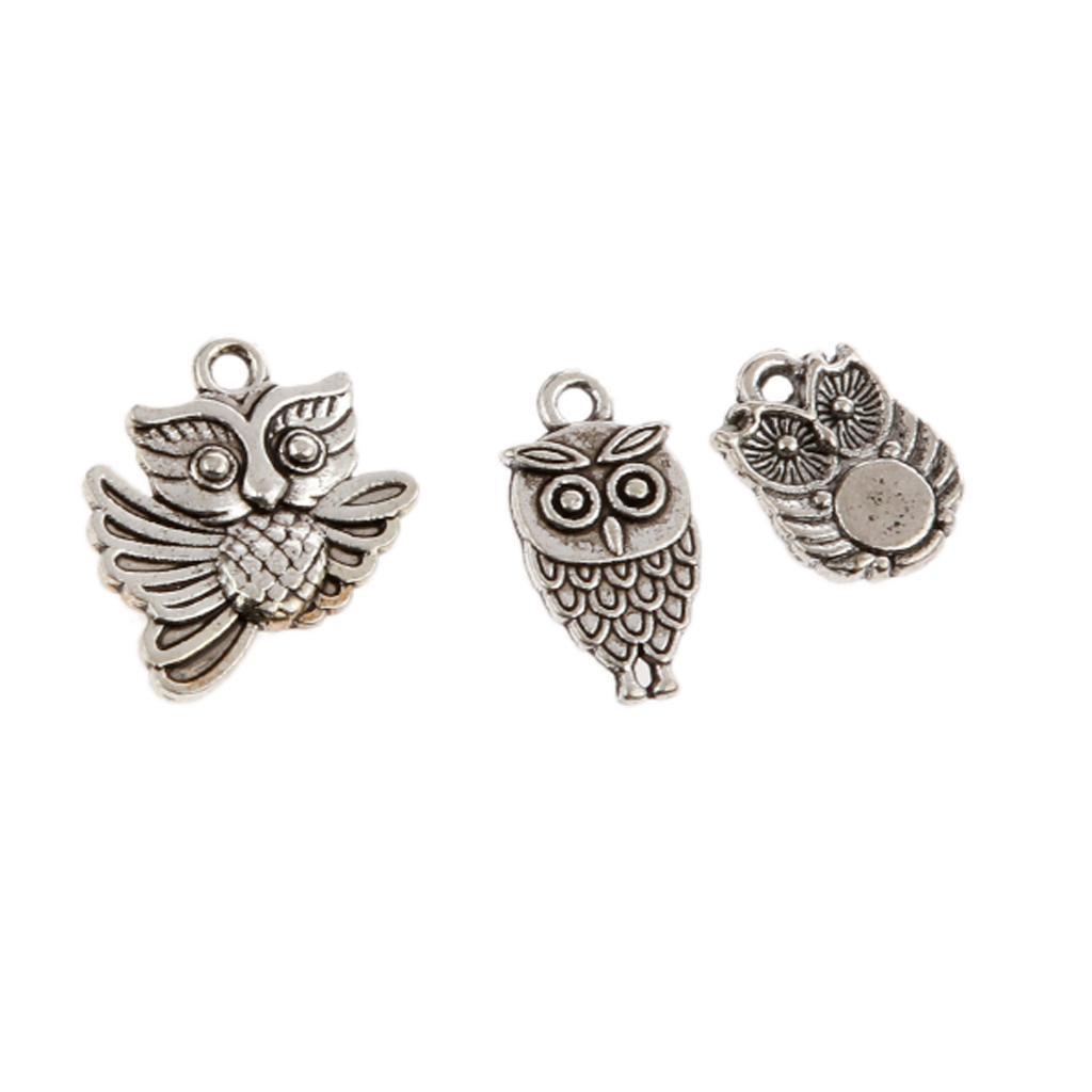 Pendentifs-Breloques-Charms-pour-Bijoux-Collier-Bracelet-DIY-Artisanat miniature 36