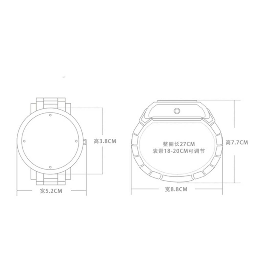 Orologio-Tascabile-da-Uomo-Stile-Steampunk-Gotico-Movimento-a-Quarzo miniatura 5