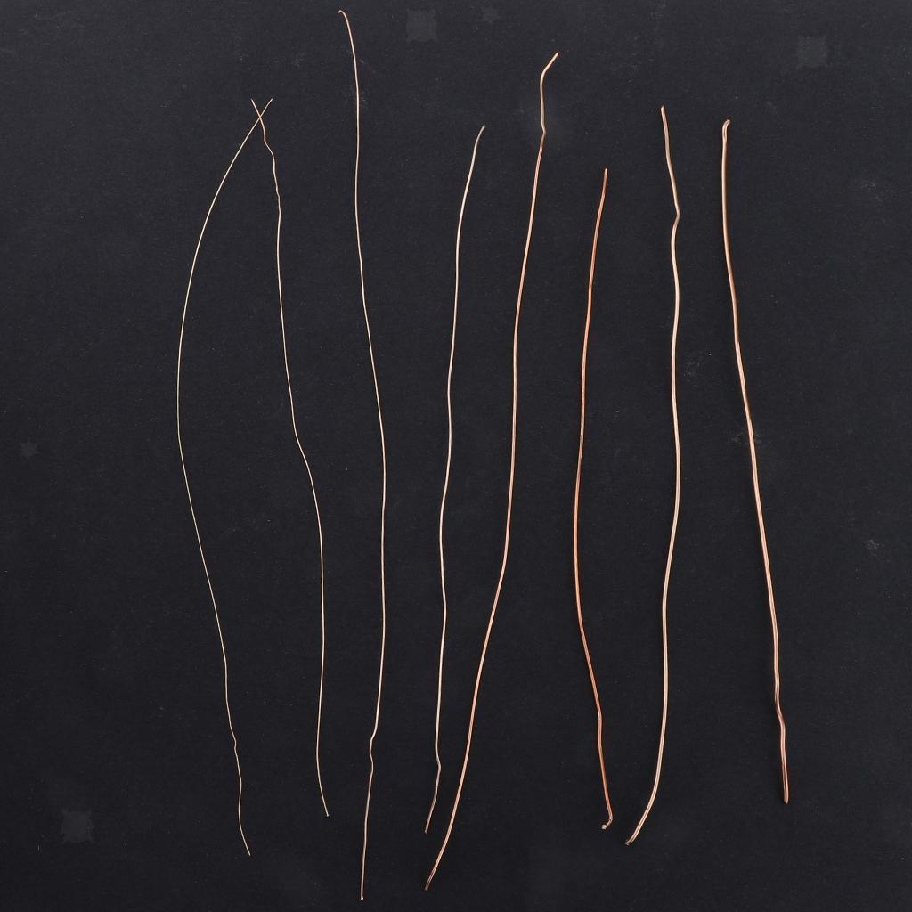 miniature 10 - Fil de cuivre pour la fabrication de bijoux Artisanat bricolage pour le fil