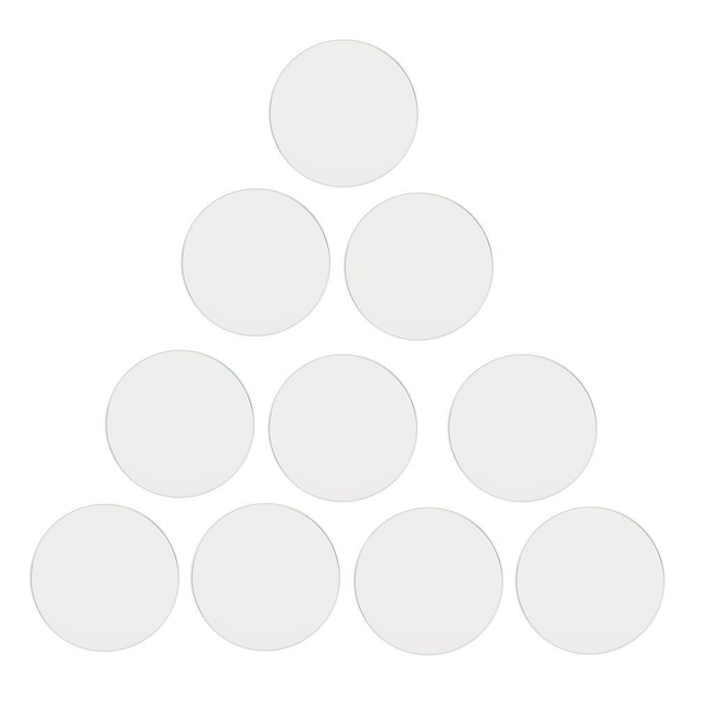 10-Pezzi-Glass-per-Orologio-DIY-Strumento-Vetro-Minerale-in-Cristallo miniatura 35