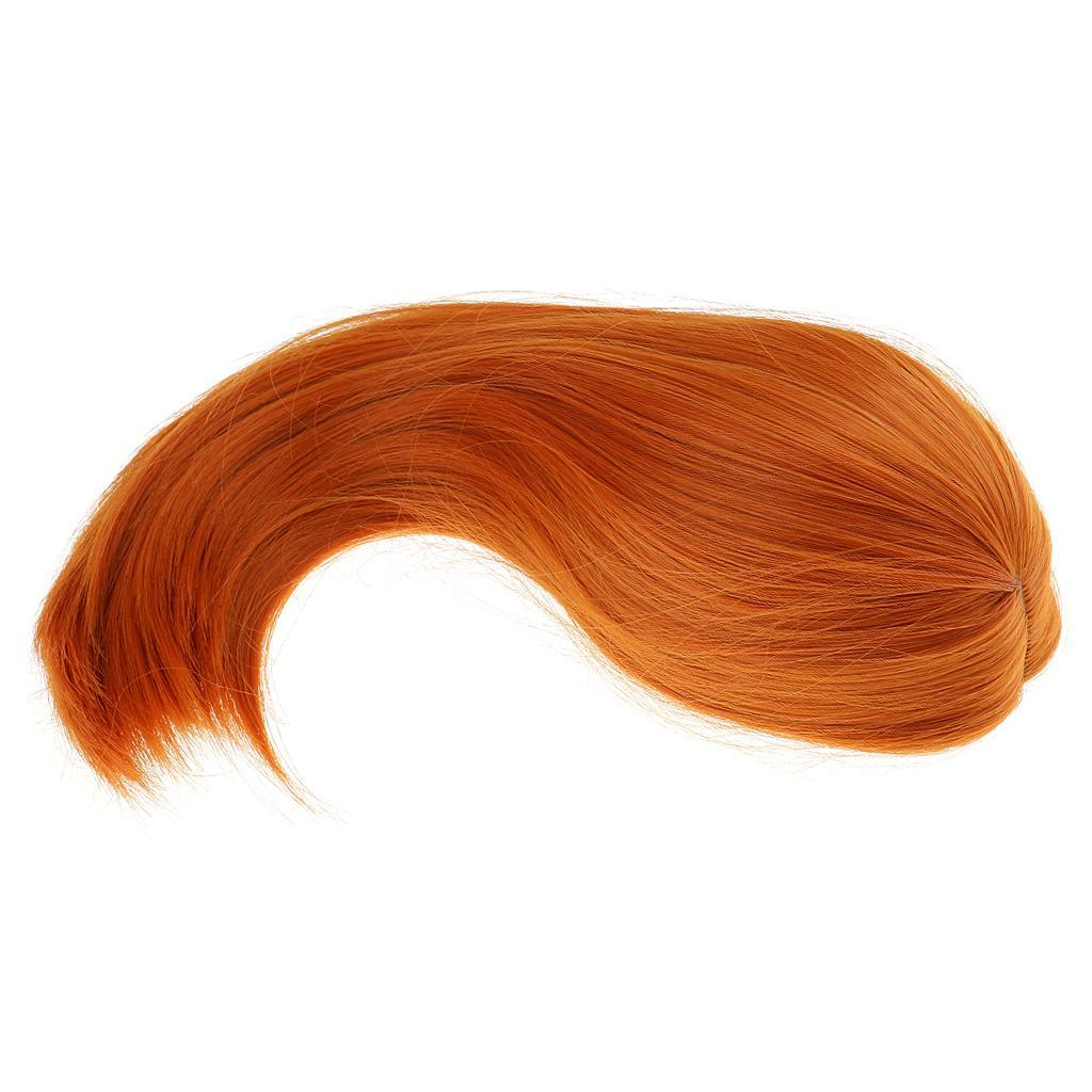Straight-Gradient-Curly-Hair-Wig-for-18-039-039-Doll-Dress-up-Accessory thumbnail 78