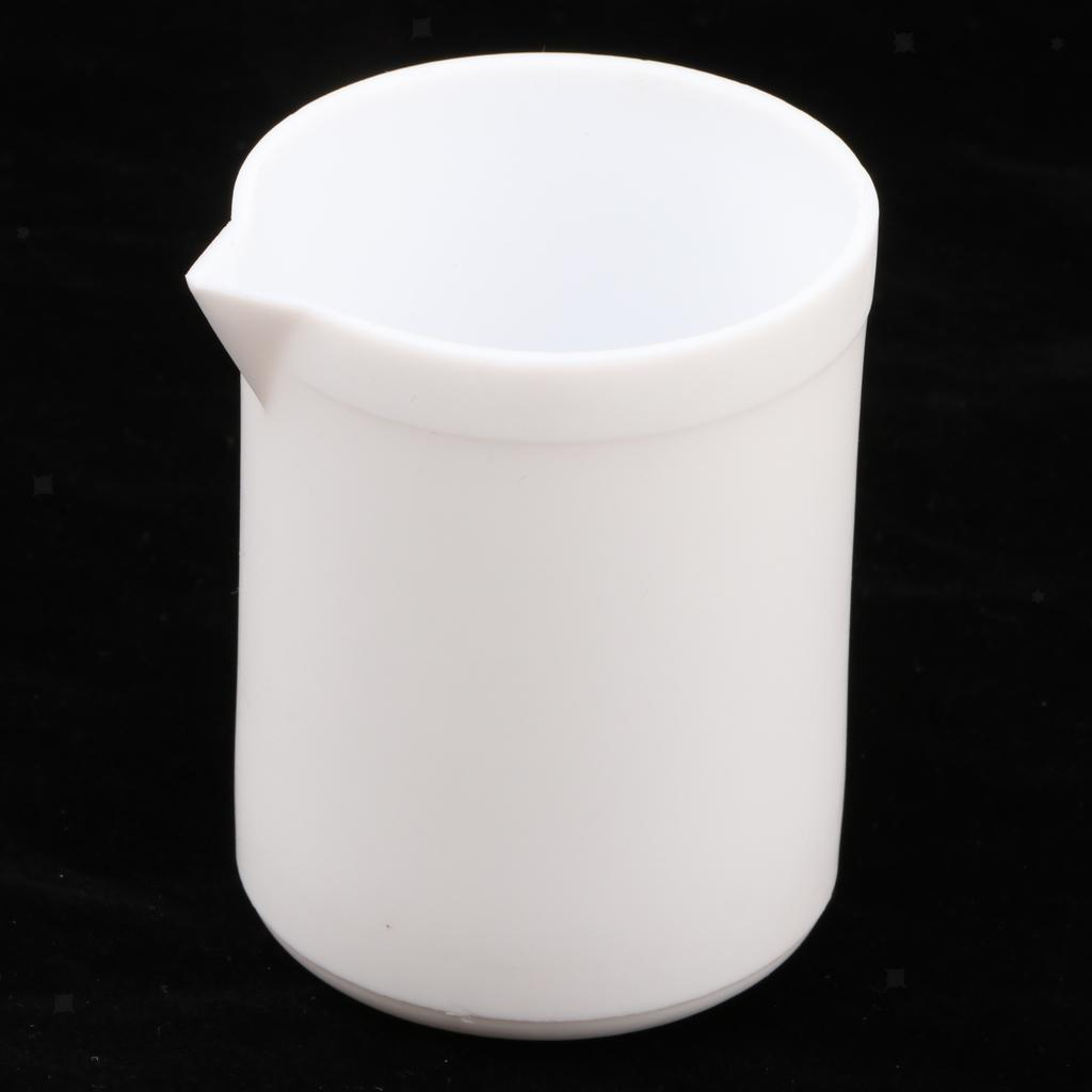100-300ml-PTFE-Beaker-Crucible-Cup-for-chemistry-biology-lab-Labware-w-Spout thumbnail 4