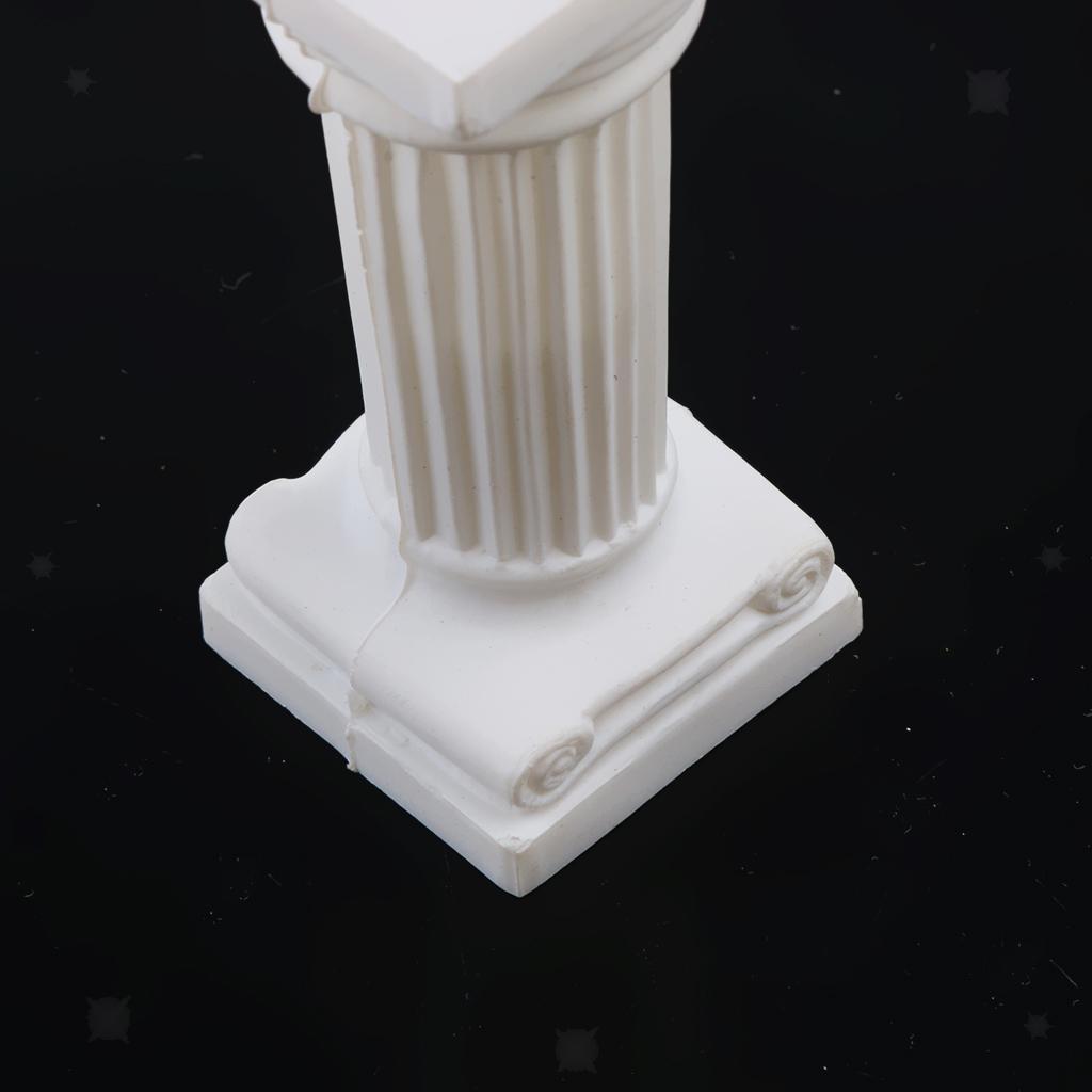12pcs-Mini-Colonne-Romane-Miniature-Sculpture-Statue-en-Platre-Accessoire miniature 6